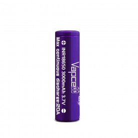Vapcell 18650 3000mah 20A – PURPLE